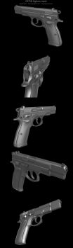 CZ75B highres mesh by limiao