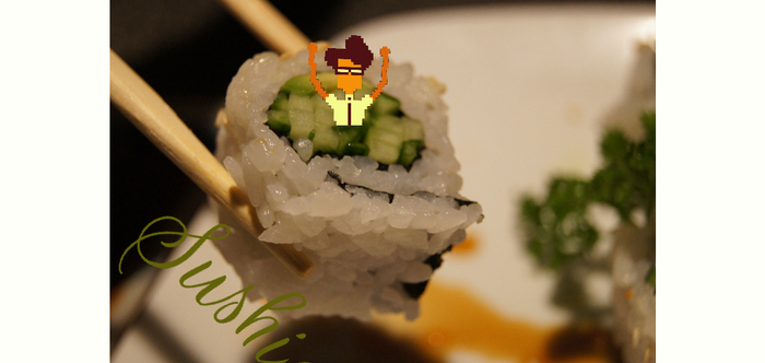Moss Flavored Sushi by Joniviv