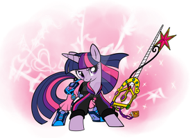 KH Twilight Sparkle by Sakuyamon