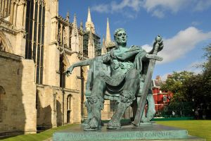 York Minster and Constantine 2 by wildplaces