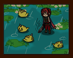 Brave Frontier : Magutagal Wetlands by CyaniDairySentinel