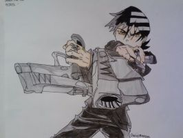 Death The Kid by ssjbankai