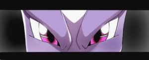 mewtwo's eyes by 101foxtrot