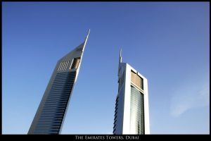 Emirates Towers by wokeupjustnow