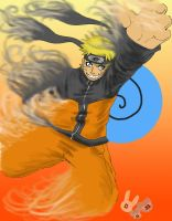 Naruto fades with the wind by BetaoftheBass