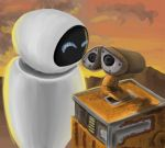 Wall-E speedpainting by aiakerr