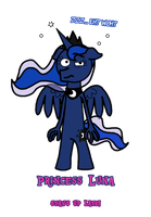 MLB: Princess Luna 'Stays Up Late!' by BrownieComicWriter