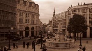 in the streets of London by Charon1
