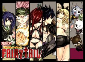 Fairy Tail Cover 341 by Unrealyeto