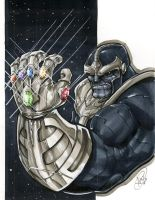 Thanos by AdamWithers