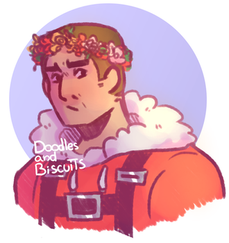 Precious Manly Man [doodle] by DoodlesAndBiscuits