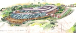 convention center design by architect-jong