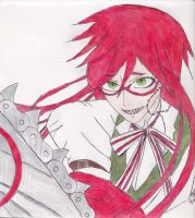 grell commission drawing for vetwin by thenightdreams