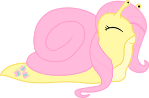 Fluttersnail Vectored by ShinobiFerret