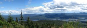 Snowy Mountain in the Adirondack Mountains by ADKKitty