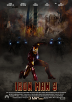 Fan made Iron Man 3 poster by BellaFantasia