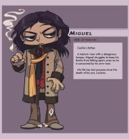 LUCIFER'S CROSS : Miguel by lastlabyrinth
