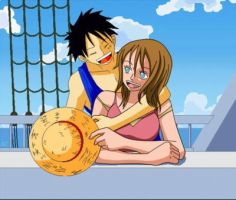Ines et Luffy by InesxLuffy