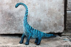 Blue Dino by hontor