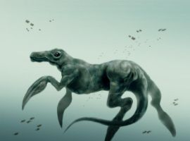 Ancient arctic seahorse by warmll