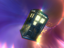 The TARDIS (Part Two?) by RandomRails