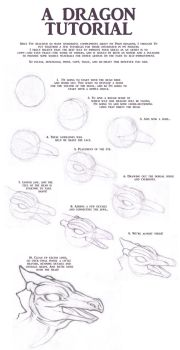 Dragon Tutorial... How to Draw the Head by MMHudson