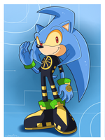 Satellite the Hedgehog by Domestic-hedgehog