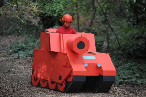 Md Tank Forest Front View by d-slim