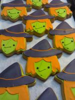 Witch Cookies by eckabeck