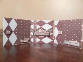 Blue and Brown Card Set by SilverInkblot