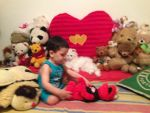 Little Sergio playing with Elmo by Topas2012