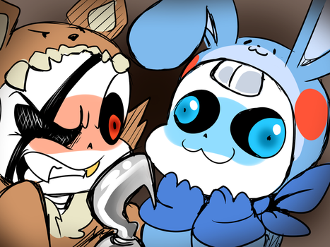 US!Sans Oh My God I Will Slap You! by thegreatrouge