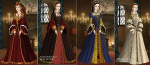 AU Queens of England in 1500s by TFfan234