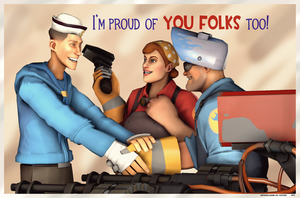 Proud of You Folks! by PrincessBloodyMary