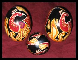 Phoenix Egg by Bamfette