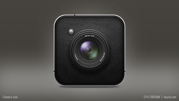 iPhone icon-Camera v2 by hehedavid