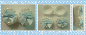 Sweet Lolita Contact Case by Rurichuu