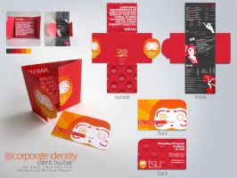 Tsu Bar : Corporate Identity by glockenpop