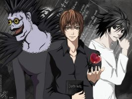Death note by SaraSama90