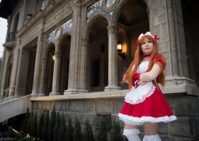 Asuka Maid dress by cloeth