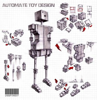 Automate Toy Design (Advice Wanted) by Tedimus