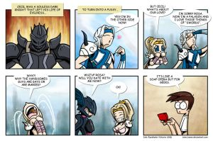 Final Fantasy IV strip by ivanev