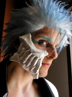 Grimmjow Close-up by MysticalDreamer