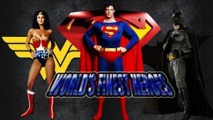 World's Finest Heroes wp by SWFan1977