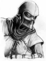 Noob Saibot (Finished) by deathlouis