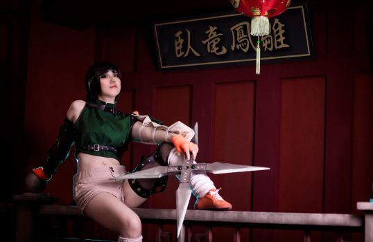 Yuffie FF7 cosplay at Wutai by mayuyu0405