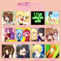 2011 summary of art by CamiIIe