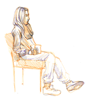 Life Drawing - 18th March 2013 by TheElvishDevil