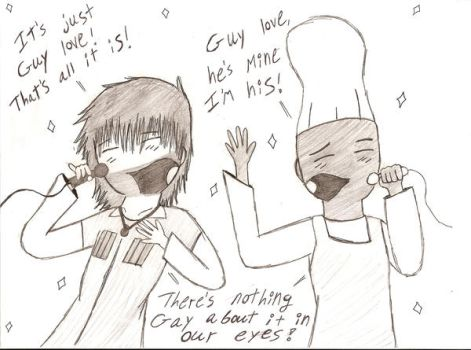 Chris and Chef's guy love by cartoonchick123