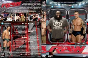 WWE Raw July 2013 DVD Cover by Chirantha